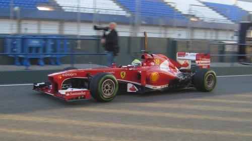 Massa said it was better than last year - it could hardly be worse! Photo: AC