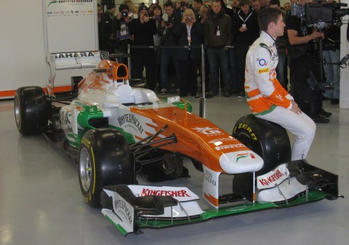 Adam Cooper Force India 2013