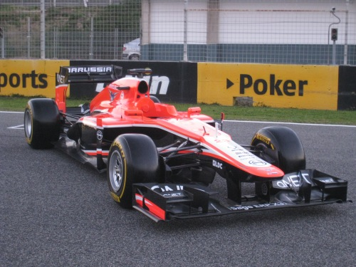 The new Marussia was unveiled today. Photo: AC