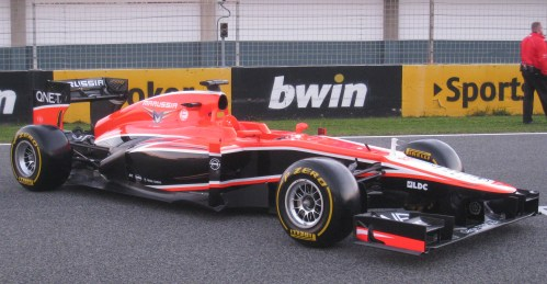 New Marussia looks a lot tidier than previous cars. Photo: AC