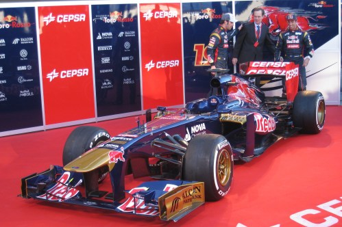The new Toro Rosso has been unveiled in Jerez: Poto: AC
