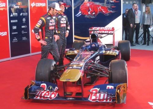 Adam Cooper Toro Rosso STR8 B