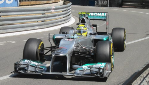 The Mercedes was fast in Monaco last year. Photo: AC