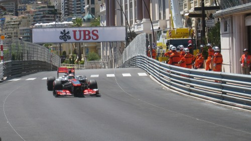Button had a good weekend in Monaco. Photo: AC