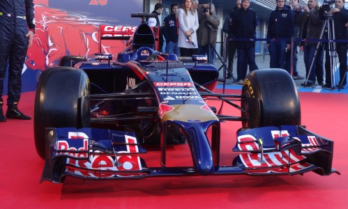 The new Toro Rosso with another 'interesting' nose. Photo: AC