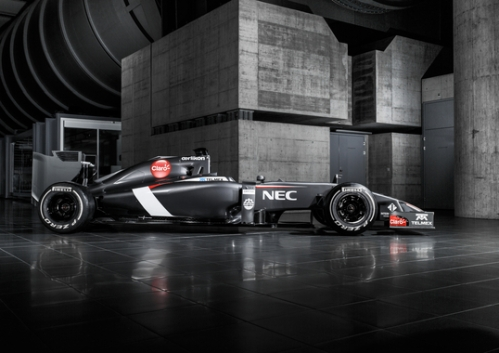 The Sauber C33 was revealed online today