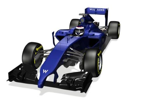 Williams give us the first 'official' view of a 2014 nose