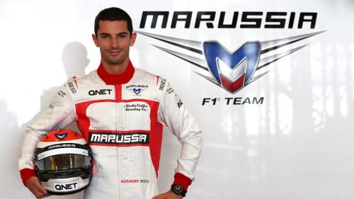Rossi has joined Marussia after leaving Caterham