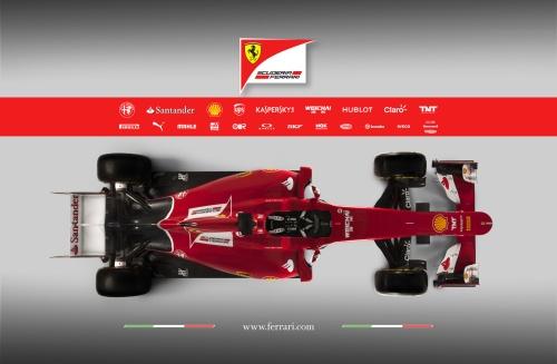 Ferrari 2015 Overhead