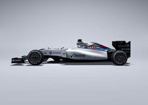 The Williams FW37 is our first sighting of a 2015 F1 design