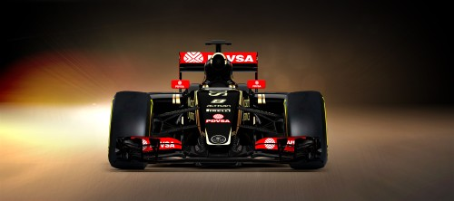 The Lotus looks a lot neater at the front than its predecessor