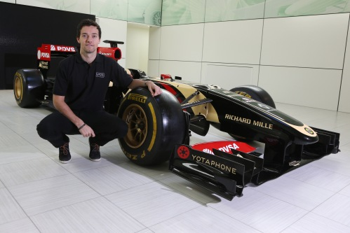 Jolyon Palmer will run in FP1 sessions with Lotus this year