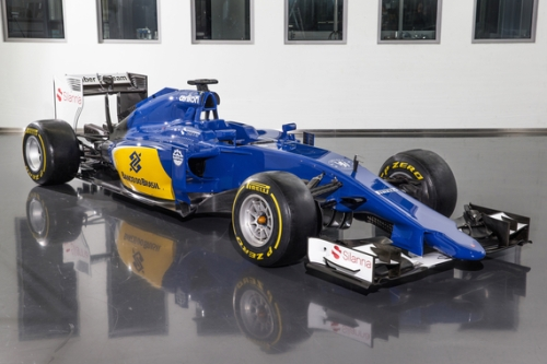 A new look for Sauber