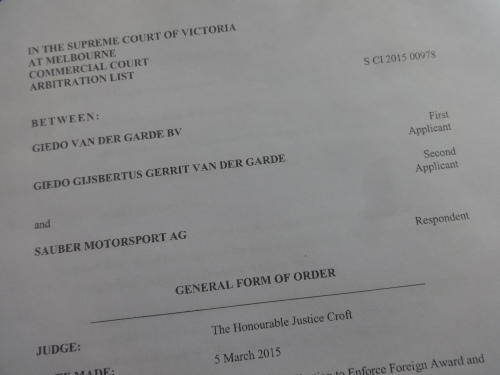 Monday is a holiday in Australia but the court will open especially to hear the case