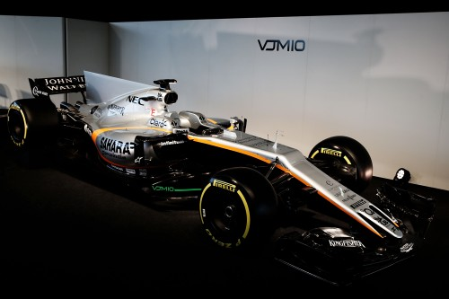 Motor Racing - Sahara Force India F1 VJM10 Launch - Silverstone, England